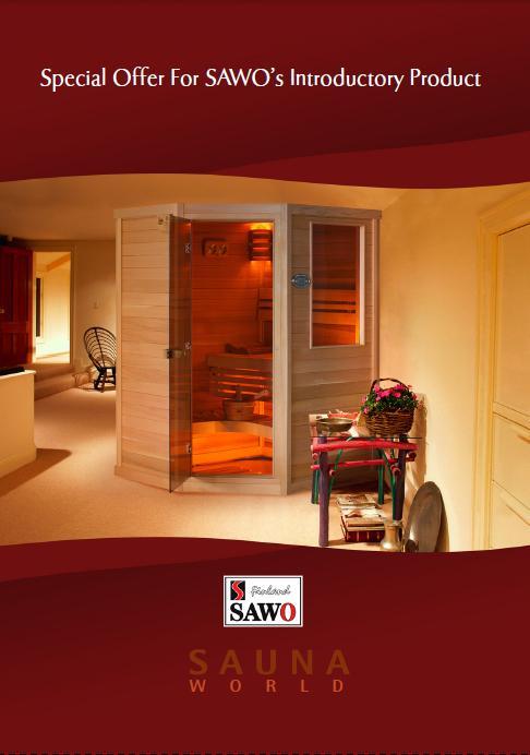 Sauna - gotowe kabiny SAWO