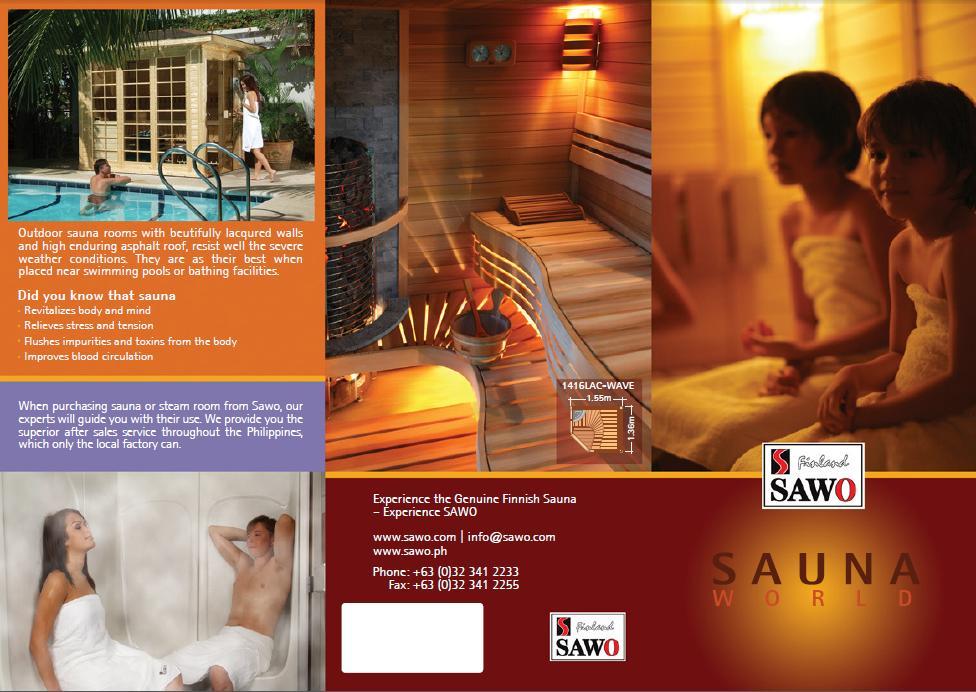 Gotowa kabina sauny od SAWO