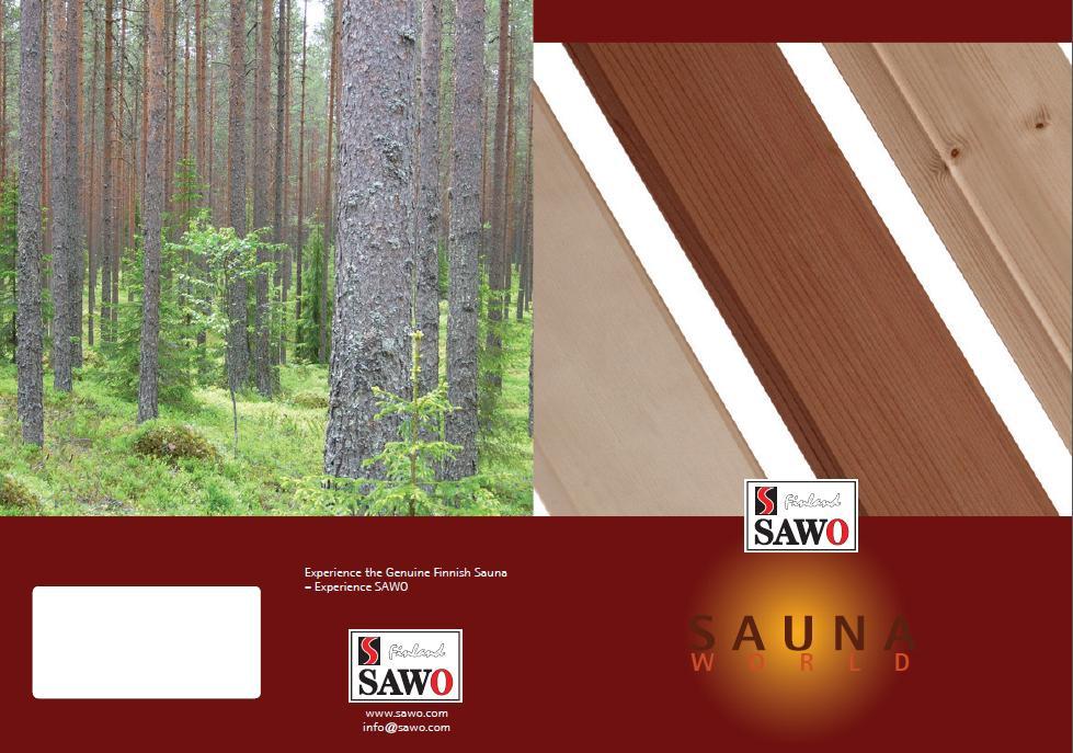 Drewno do sauny od SAWO