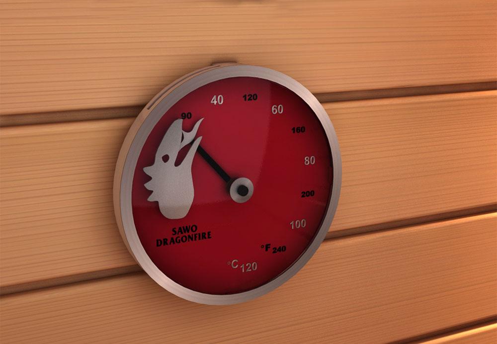 termometr Sawo do sauny dragonfire