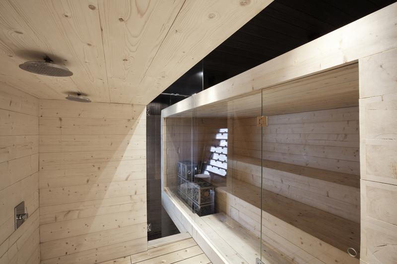 Sauna fińska Kyly zpiecem do sauny IKI