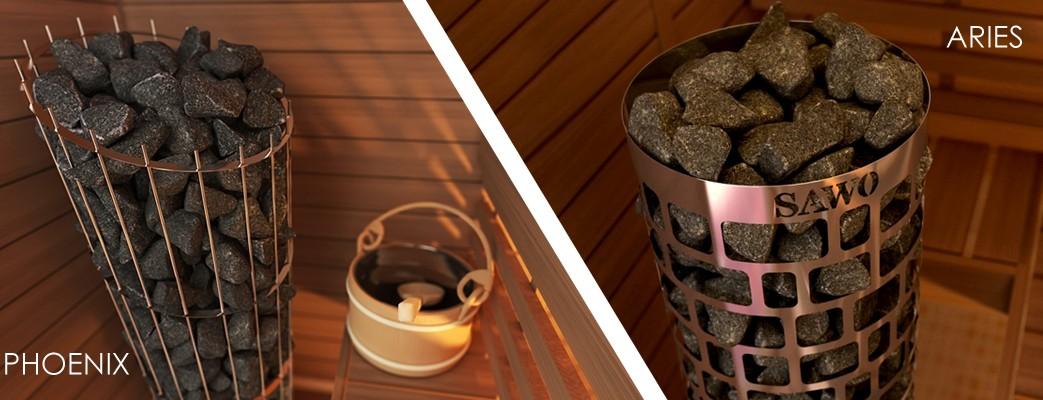 nowe piece do saun firmy SAWO Phoenix iAries